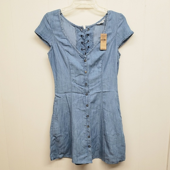 American Eagle Outfitters Dresses & Skirts - NEW! AEO Denim Button Up Dress